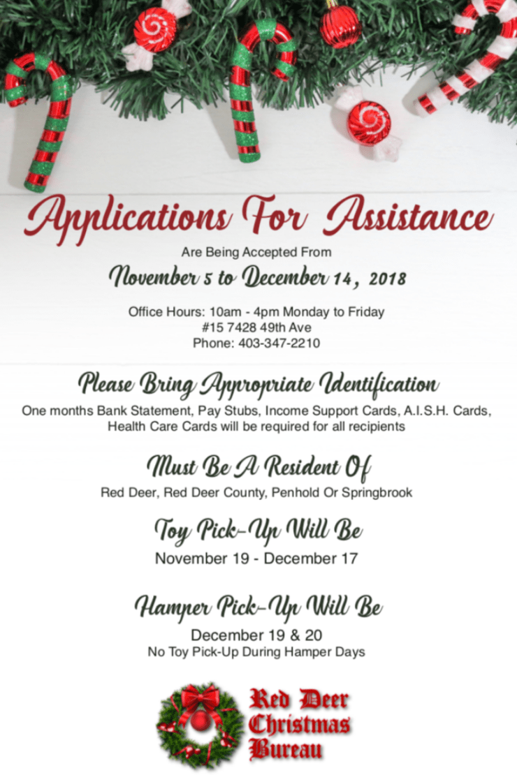 Christmas Bureau accepting applications beginning Nov. 5 - Todayville