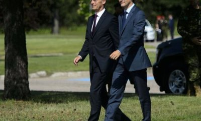 NATO Secretary General meets Trudeau in Ottawa