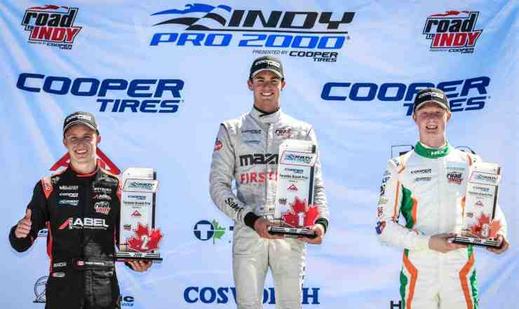 Parker Thompson Toronto Indy 2nd Place