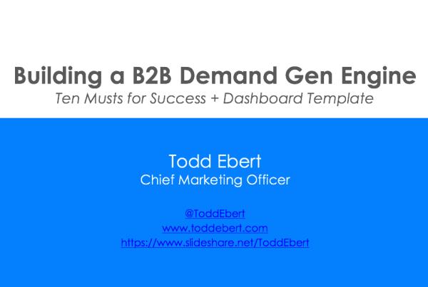 b2b demand generation
