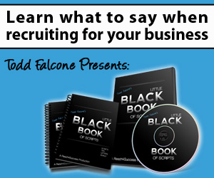 Get the Todd Falcone Little Black Book of Scripts Now!