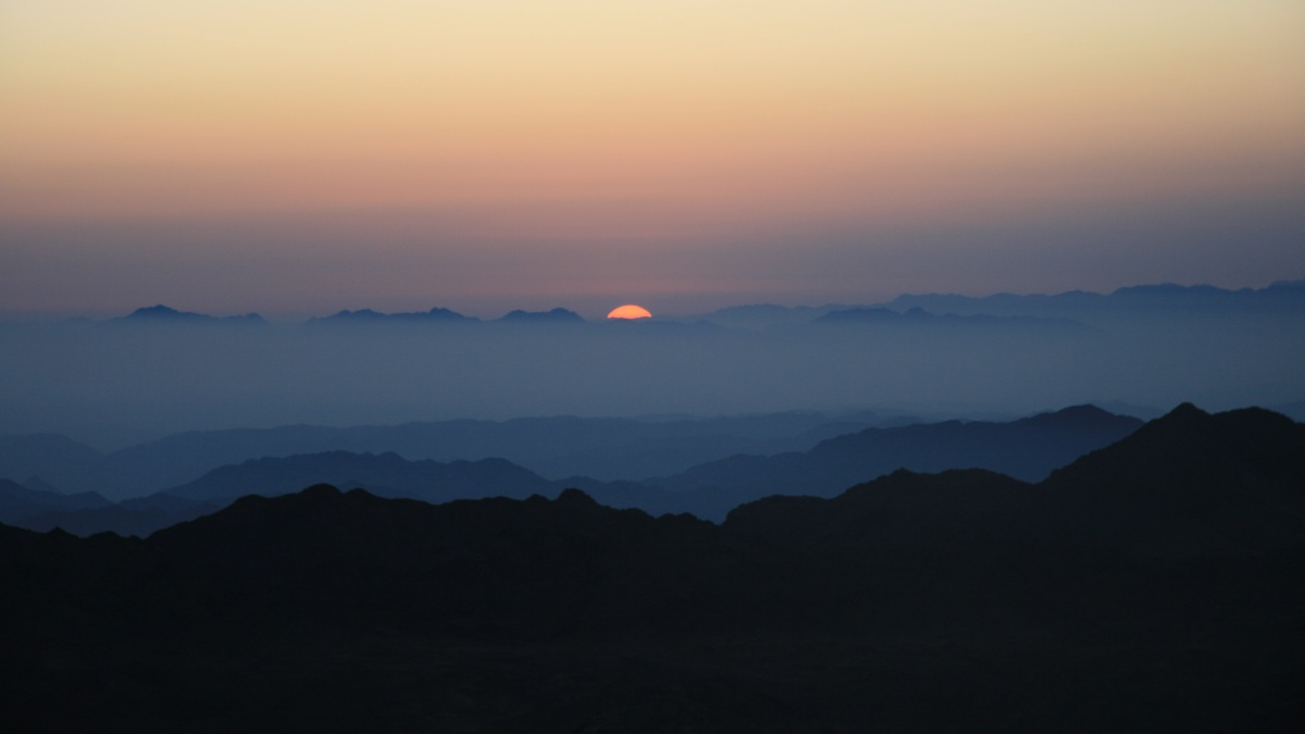 Mt Sinai sunrise