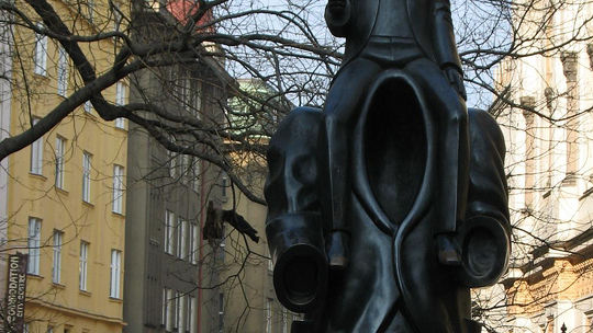 Kafka Monument in Prague