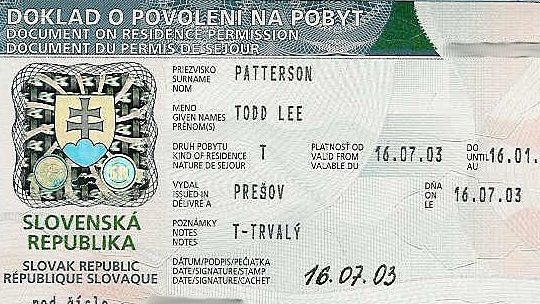 slovak visa