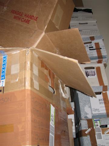 uhaul packing