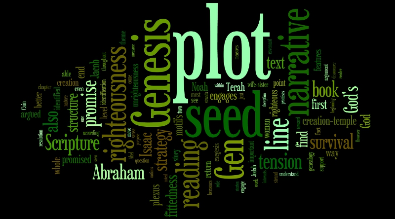 chapter 9 genesis dissertation wordle