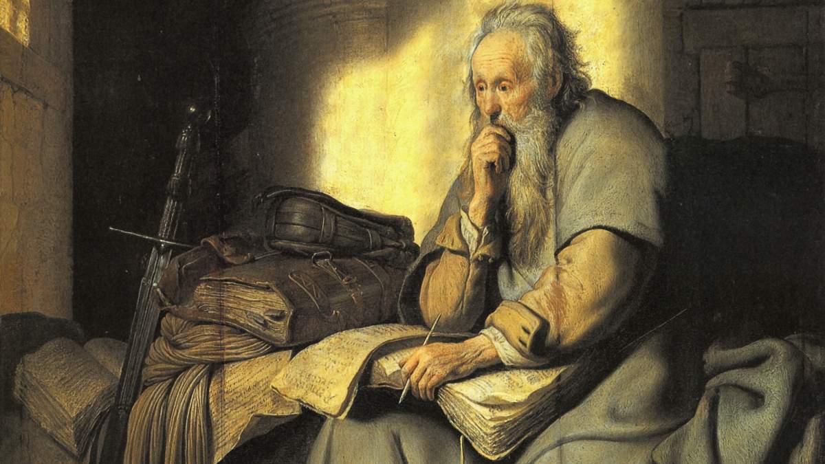 Rembrandt's St. Paul in Prison