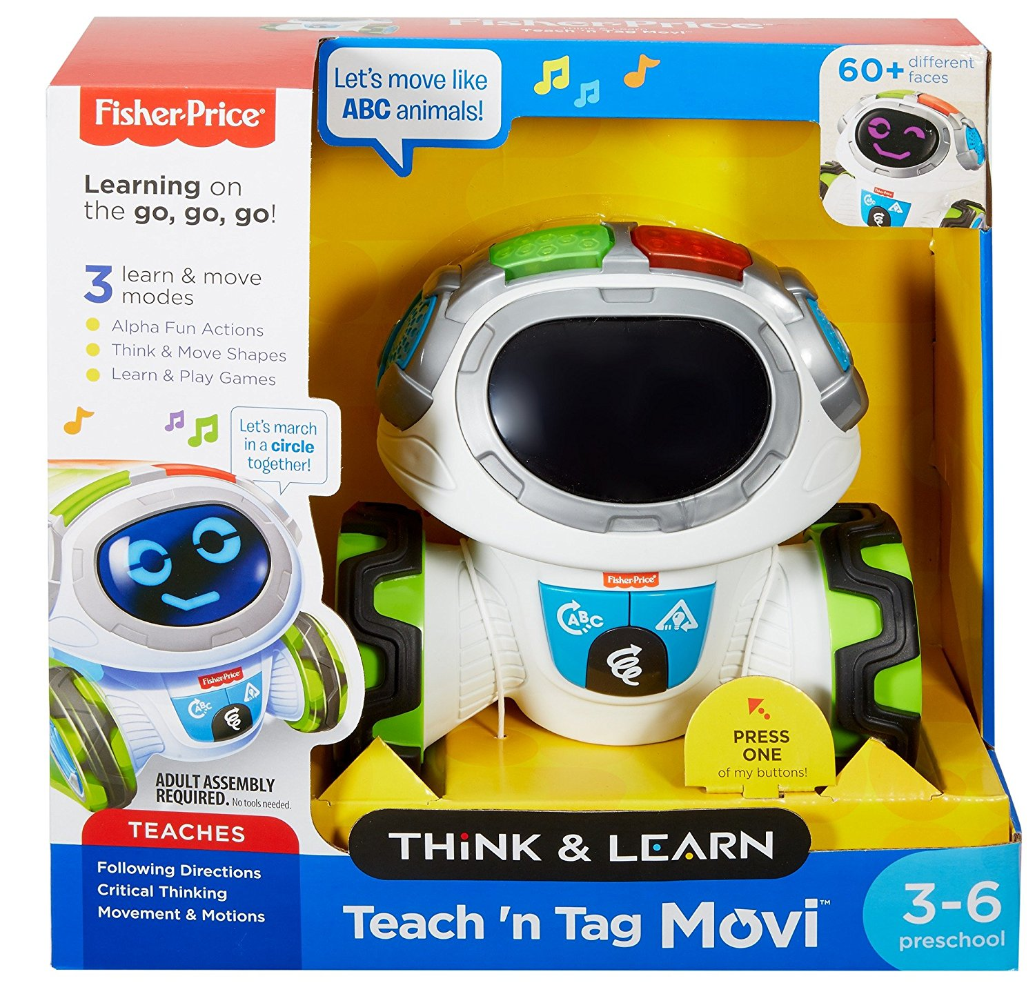 Fisher Price Think And Learn Teach N Tag Movi Hottest Toy