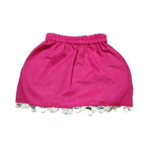 blue reversible skirt 2