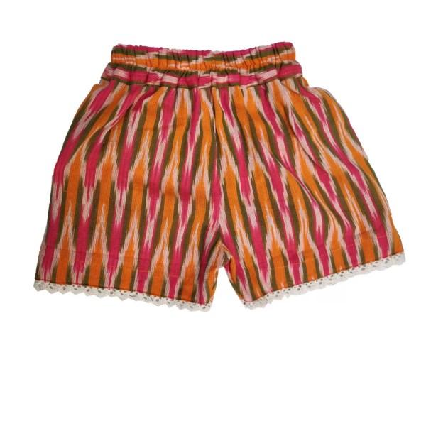 printed shorts back