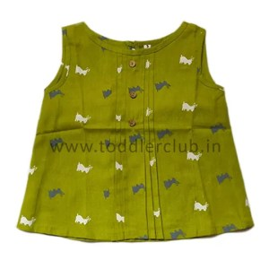 Kids Rabbit print Cotton Top
