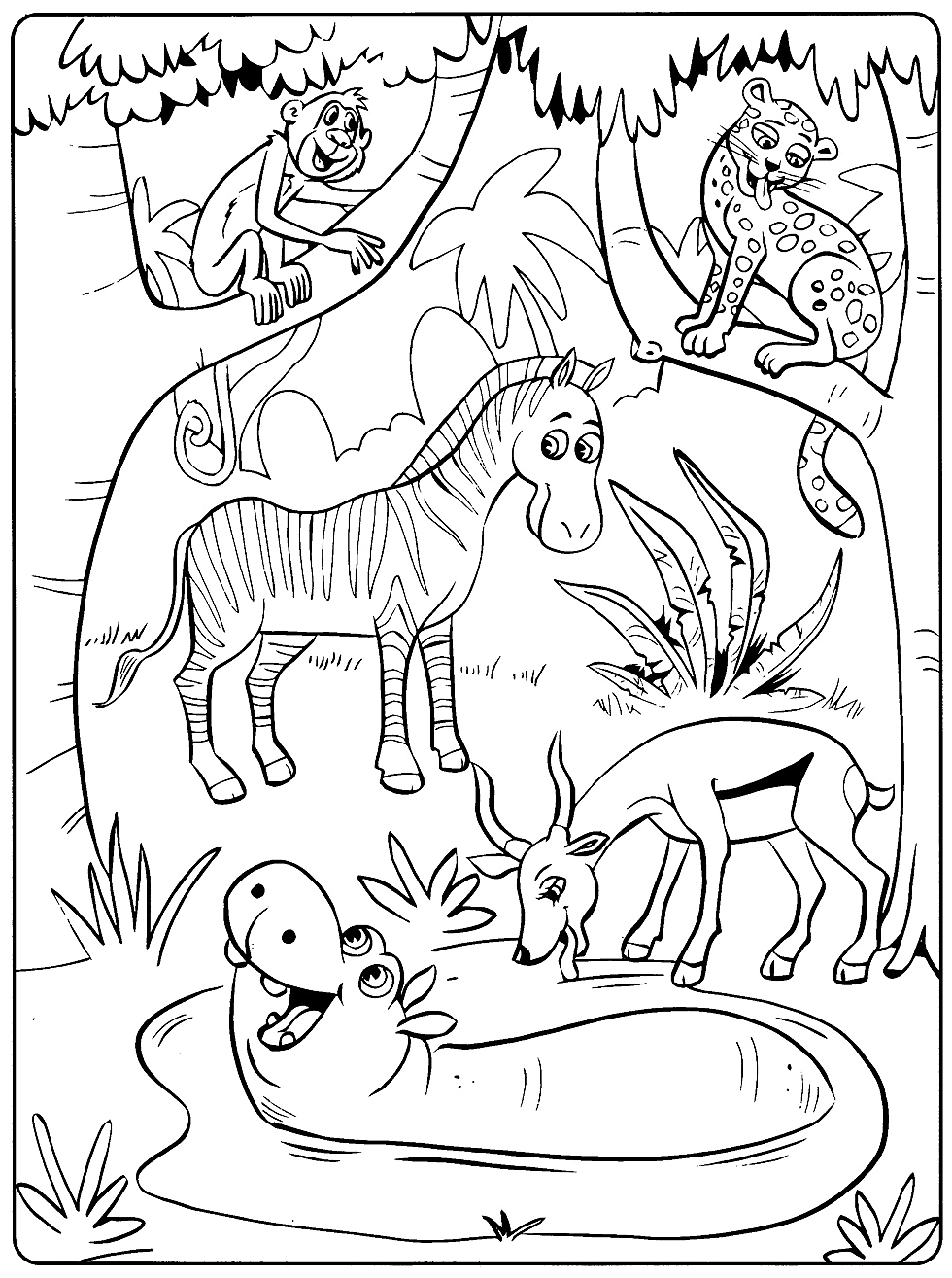 Toddler Coloring Pages | coloring pages for toddlers