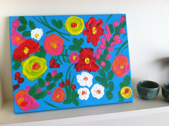 Craft Finger Painting Inspired By Lilly Toddler