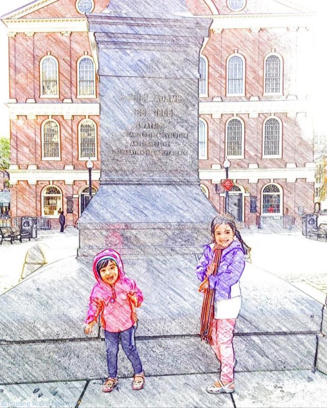 Boston - Samuel Adams statue