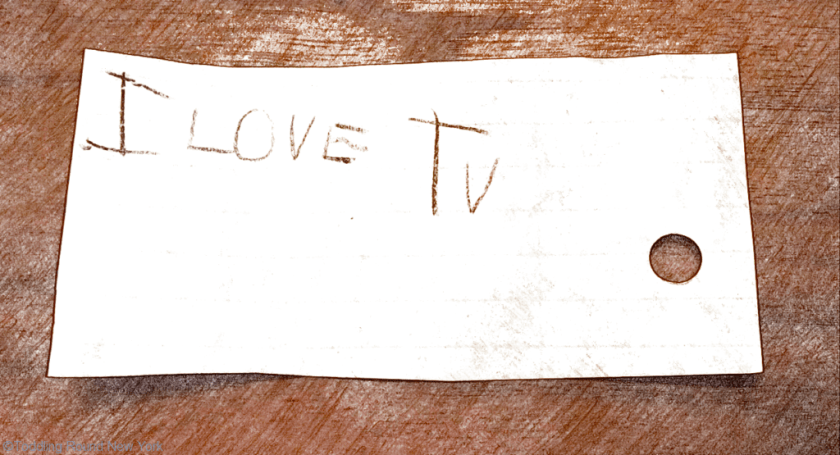 T's love letter... to the telly