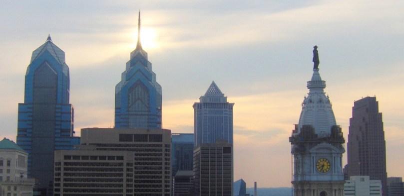 Philly Skyline by en.wikipedia users Ben Tibbetts and RichardMarcJ