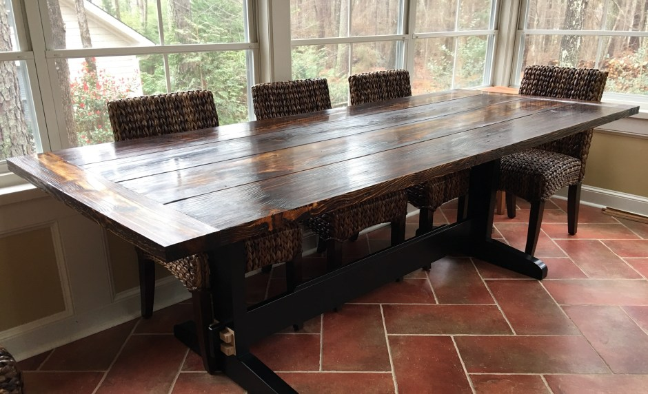 Farm Table Todds Wood And Other Insights - Building a farm table
