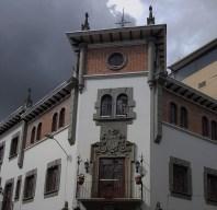 Cloudy skies in El Centro Cuenca