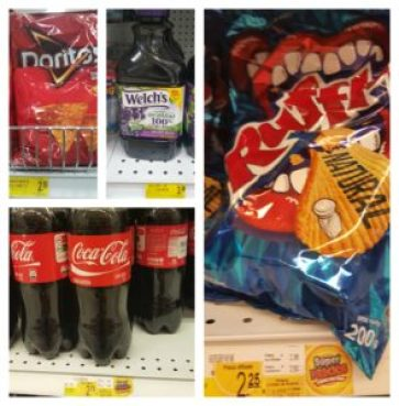 Chips, Soda, & Juice