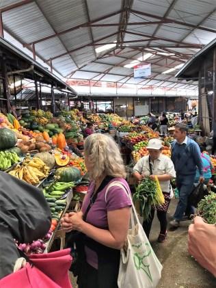 feria libre fruits and veggies