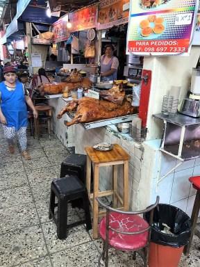 Feria Libre cooked pork