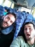 Easton and Paul on way to coast