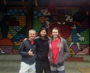 Tres amigos in Montanita