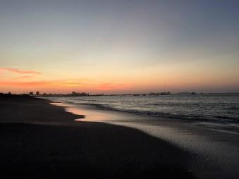 Sunset over Salinas