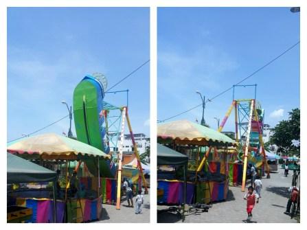 carnival rides in olon ecuador