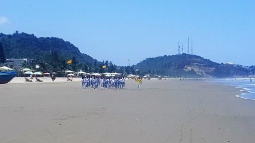 olon beach exercise