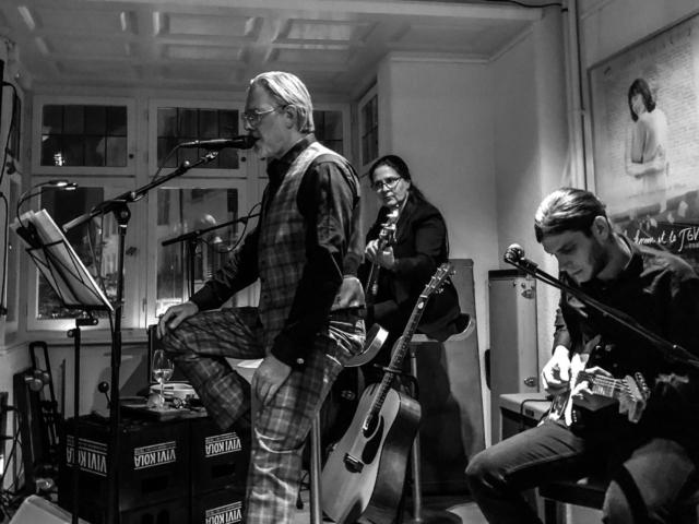 GRABER live im Stüssihof, Zürich am 29. September 2018. Gedenkkonzert für Martin Ain Stricker.