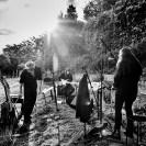 «GRABER: Letzte Worte - Konzerte für die Toten» auf dem Friedhof Höngg, 22. Juni 2020. Foto: Corinne Koch.