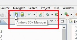 Seleccionar Android SDK