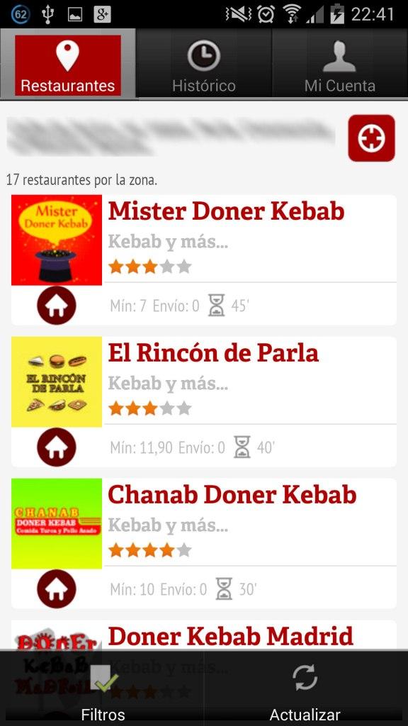 La nevera Roja Restaurantes