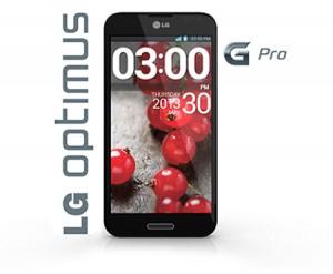 LG Optimus G Pro frontal