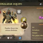 Dungeon Hunter V Lleva 2 armas