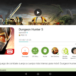 Actualización Dungeon Hunter V