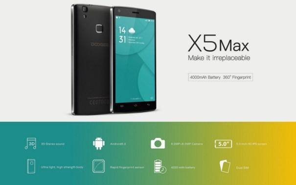 Doogee X5 Max