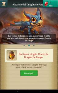 Dragons Of Atlantis Dragon de fuego Joven