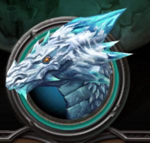 Dragons of Atlantis Dragon de Hielo