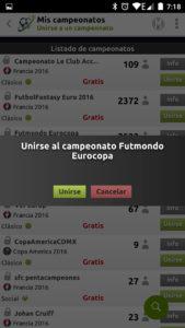Futmondo campeonato abierto
