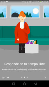 Google Opinion Rewards encuestas breves
