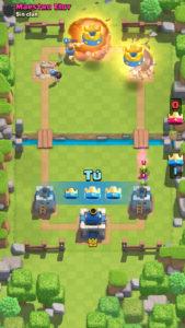 Clash Royale rompe torres