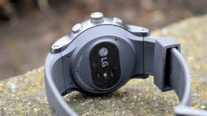 LG Watch Sport sensor pulso