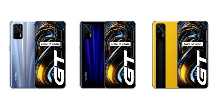 Realme Gt disponible en 3 colores