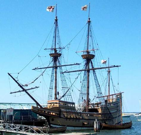Buque Mayflower