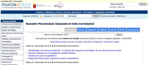 Polen en Murcia Salud