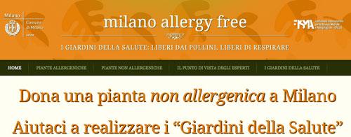 Milano allergy free