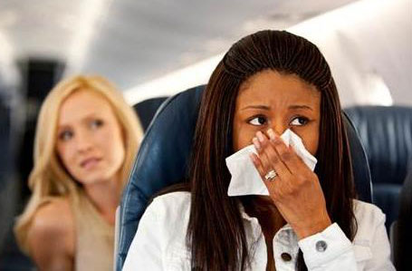 Alergia abordo