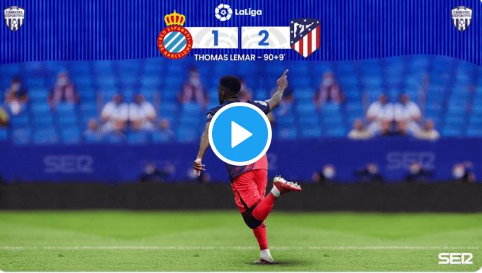 VIDEO: El gol de Lemar narrado por Carrusel Deportivo